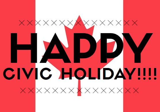 Happy Civic Holiday