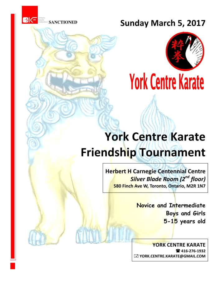york_centre_karate_tournament_poster